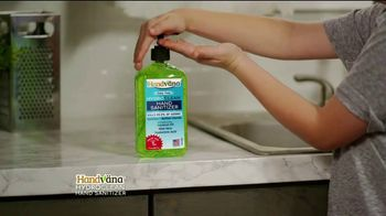 Handvana Hydroclean Hand Sanitizer TV Spot, 'Kills 99.9 Percent of Germs: $14.99' - Thumbnail 6