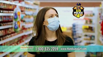 Handvana Hydroclean Hand Sanitizer TV Spot, 'Kills 99.9 Percent of Germs: $14.99' - Thumbnail 9