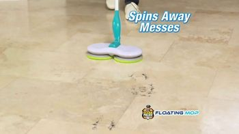Clean Police Floating Mop TV Spot, 'Scrub, Grab and Trap Dirt' - Thumbnail 2