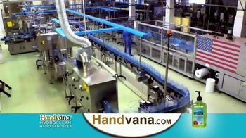 Handvana HydroClean Hand Sanitizer TV Spot, 'Revolutionary' - Thumbnail 5