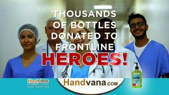 Handvana HydroClean Hand Sanitizer TV Spot, 'Revolutionary' - Thumbnail 9