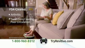 Revitive Medic TV Spot, 'Get Back on Your Feet: User Reviews'