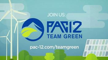 Pac-12 Conference TV Spot, 'Team Green: University of Washington' - Thumbnail 10