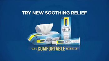 Preparation H Soothing Relief TV Spot, 'Discomfort Back There' - Thumbnail 10