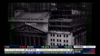 New York Stock Exchange TV Spot, 'Together, We're Strong.'