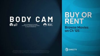 DIRECTV Cinema TV Spot, 'Body Cam' - Thumbnail 10