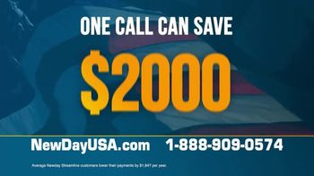 NewDay USA VA Streamline Refi TV Spot, 'Huge News: VA Loans' - Thumbnail 6