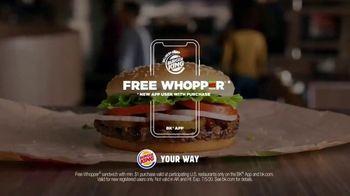 Burger King Whopper TV Spot, 'Fancy Burger: Free Whopper' - Thumbnail 9