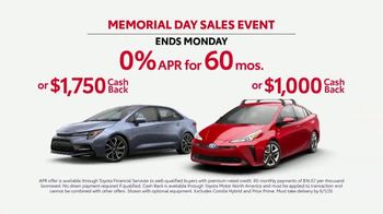 Toyota Memorial Day Sales Event TV Spot, 'Trust Toyota' Song by Vance Joy [T2] - Thumbnail 3