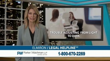 Parker Waichman TV Spot, \'Elmiron Legal Helpline\'