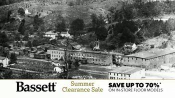 Bassett Summer Clearance Sale TV Spot, 'A Part of the American Home' - Thumbnail 1