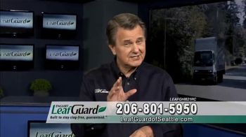 LeafGuard of Seattle $99 Install Sale TV Spot, 'Good Housekeeping Seal'