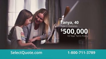 Select Quote TV Spot, 'Tanya & Rick'