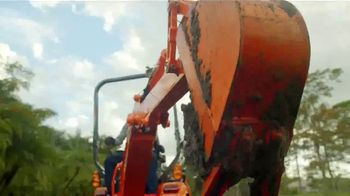 Kubota TV Spot, 'Some Work Can't Stop: No Payments for 90 Days' - Thumbnail 2