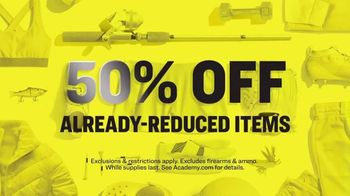 Academy Sports + Outdoors The Big Deal Clearance Event TV Spot, '50% Off' - Thumbnail 5
