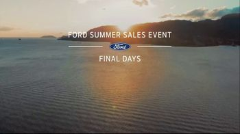 Ford Summer Sales Event TV Spot, 'Time's Running Out' Song by Kygo, Whitney Houston [T2] - Thumbnail 1