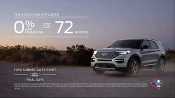 Ford Summer Sales Event TV Spot, 'Time's Running Out' Song by Kygo, Whitney Houston [T2] - Thumbnail 6