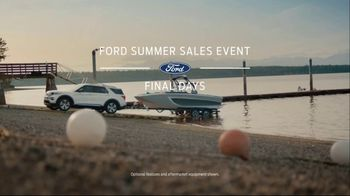 Ford Summer Sales Event TV Spot, 'Time's Running Out' Song by Kygo, Whitney Houston [T2] - Thumbnail 2