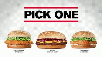 Checkers $4 Meal Deal Steals TV Spot, 'Pick Your Sandwich' - Thumbnail 4