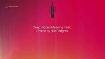 Apple Music TV Spot, 'Deep Hidden Meaning Radio: Hosted by Nile Rodgers' - Thumbnail 9