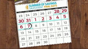 Ford Summer of Savings Sales Event TV Spot, 'Labor Day: Stop the Clock' [T2] - Thumbnail 5