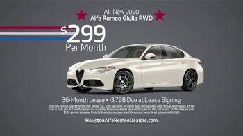 Alfa Romeo Labor Day Sales Event TV Spot, 'Imagine' [T2] - Thumbnail 3
