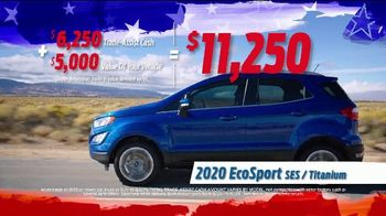 Ford Labor Day Sellathon TV Spot, 'Sizzling Hot Deals' [T2] - Thumbnail 3