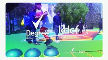 Degree Deodorants TV Spot, 'Kevin Durant Charity Foundation: Keep Moving' - Thumbnail 3