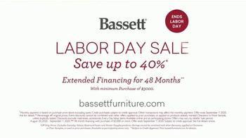 Bassett Labor Day Sale TV Spot, 'Our Makers. Your Story.' - Thumbnail 8