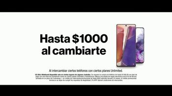 Verizon TV Spot, 'Una familia grande: $1,000 dólares al cambiarte' [Spanish] - Thumbnail 8