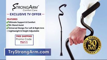 StrongArm Comfort Cane TV Spot, 'Unreliable Cane' - Thumbnail 9