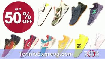 Tennis Express Labor Day Mega Sale TV Spot, 'Shoes, Clothes and Free Stringing' - Thumbnail 4
