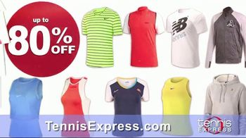 Tennis Express Labor Day Mega Sale TV Spot, 'Shoes, Clothes and Free Stringing' - Thumbnail 6