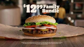 Burger King Family Bundle TV Spot, 'Flame Grilling for the Family' - Thumbnail 6