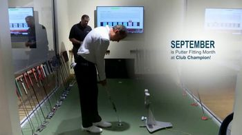 Club Champion Putter Fitting Month TV Spot, 'September Only' - Thumbnail 2