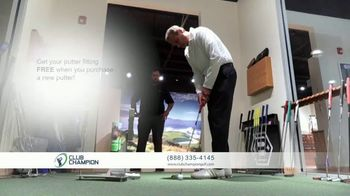 Club Champion Putter Fitting Month TV Spot, 'September Only'