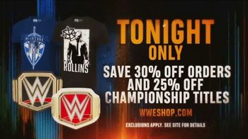 WWE Shop TV Spot, 'Bring It On: 30% off Orders & 25% off Titles' - Thumbnail 9