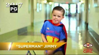 Connor's Cure TV Spot, 'WWE Superstars: Superman Jimmy'