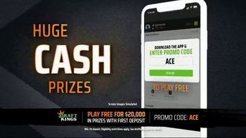 DraftKings TV Spot, 'Tennis Fans: $20,000 In Prizes' - Thumbnail 5