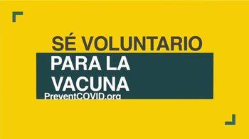 COVID-19 Prevention Network TV Spot, 'Ser voluntario' [Spanish]