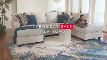 Ashley HomeStore Labor Day Sale TV Spot, 'Final Days: Up to 30% Off' - Thumbnail 3