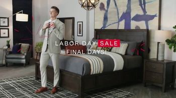 Ashley HomeStore Labor Day Sale TV Spot, 'Final Days: 30% Off'