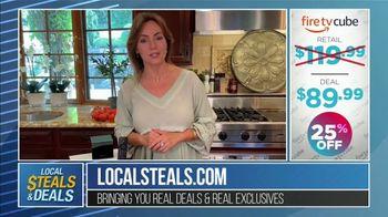 Local Steals & Deals TV Spot, 'Fire TV Cube' Featuring Lisa Robertson - Thumbnail 10