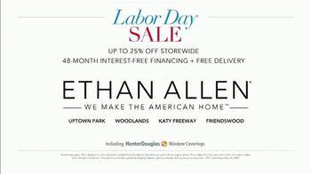 Ethan Allen Labor Day Sale TV Spot, 'Fantastic Savings: 25% Off Storewide' - Thumbnail 5