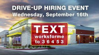 McDonald's Drive-Up Hiring Event TV Spot, 'Now Hiring' - Thumbnail 4