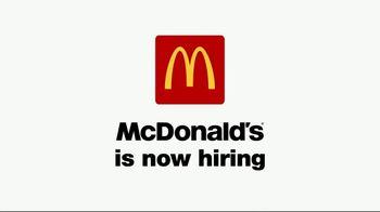 McDonald's Drive-Up Hiring Event TV Spot, 'Now Hiring' - Thumbnail 1