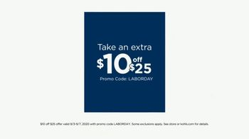 Kohl's Labor Day Weekend Sale TV Spot, 'Extra 20% off Monday' - Thumbnail 3