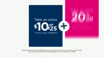 Kohl's Labor Day Weekend Sale TV Spot, 'Extra 20% off Monday' - Thumbnail 4