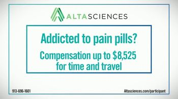 Altasciences TV Spot, 'Addicted to Pain Pills' - Thumbnail 1