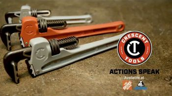 Crescent K9 Jaw Pipe Wrench TV Spot, 'Any Angle' - Thumbnail 10